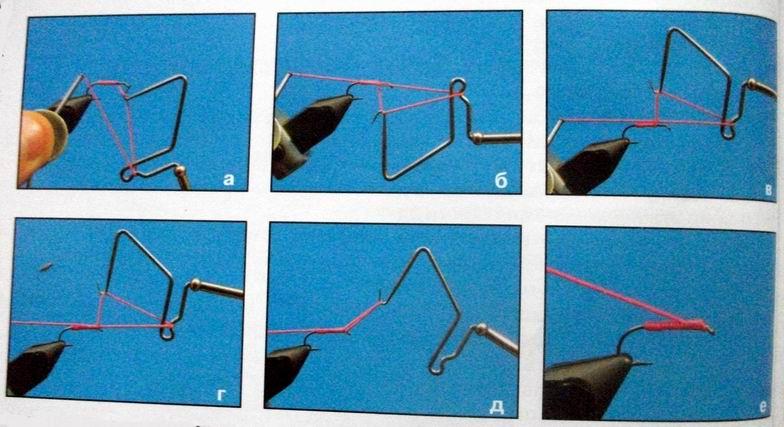 Инструмент для вязания рыболовных мушек 23